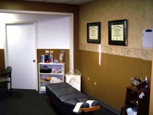 Audubon Park Chiropractic & Wellness Adjusting Room