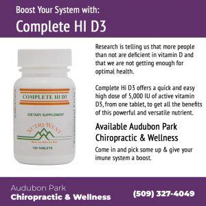 Complete HI D3 Audubon Park Chiropractic