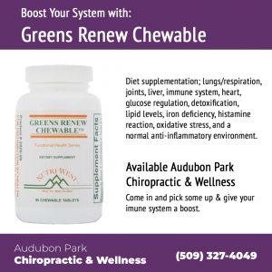 Greens Chew Renewable Audubon Park Chiropractic