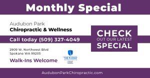 Audubon Park Monthly Special